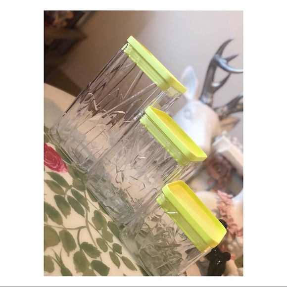 Target Other - Set of Three Kitchen Storage Containers